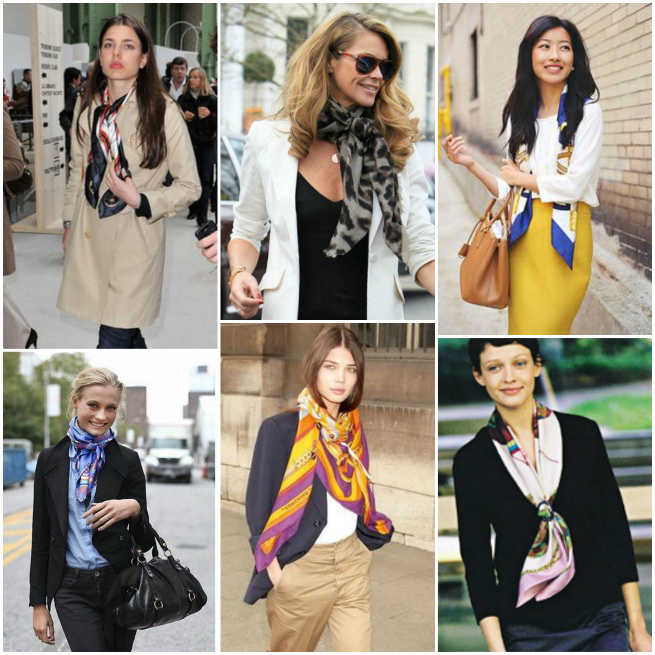 workwear scarfs hot to wear
