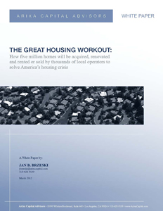 The Great Housing Workout White Paper