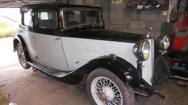 Rewind This 1934 Triumph Gloria Saloon Already Sold On Ebay But It S Fun To See The Photos Steve S British Car