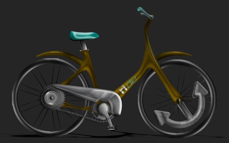 Bikeshare concept for Providence, RI.