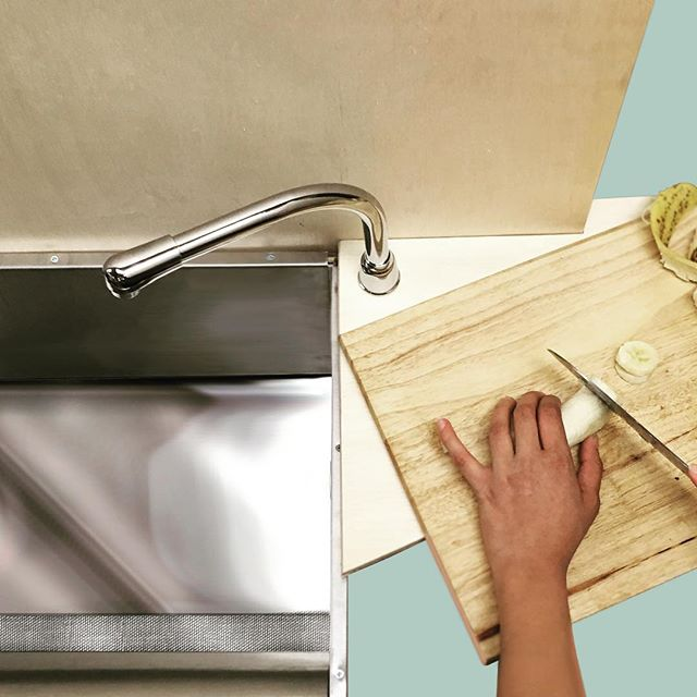 What if we redesigned domestic systems to make sustainable behaviors convenient? https://risd.ccnsite.com/iamlizziewright  #sustainability#design#kitchen#foodwaste#industrialdesign#systems