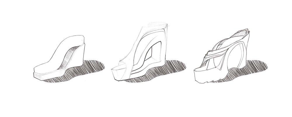 Quick platforms concept sketches