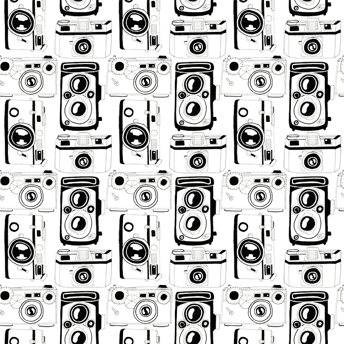 Repeating-Vintage-Camera-Pattern