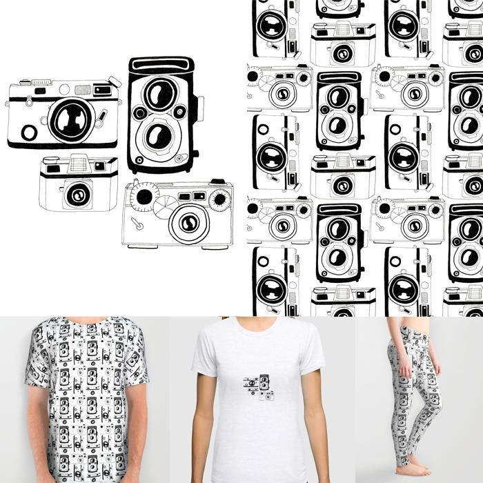 Vintage-Camera-TShirt