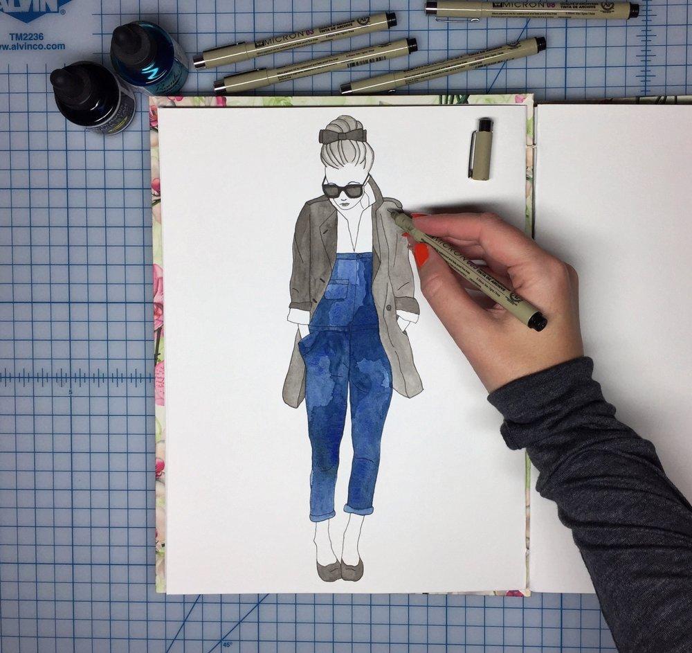 Inktober-Jeans-BrownPaperBunny