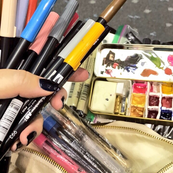 Travel Art Supplies