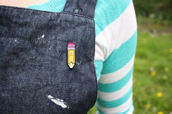 Pencil Enamel Pin.jpg