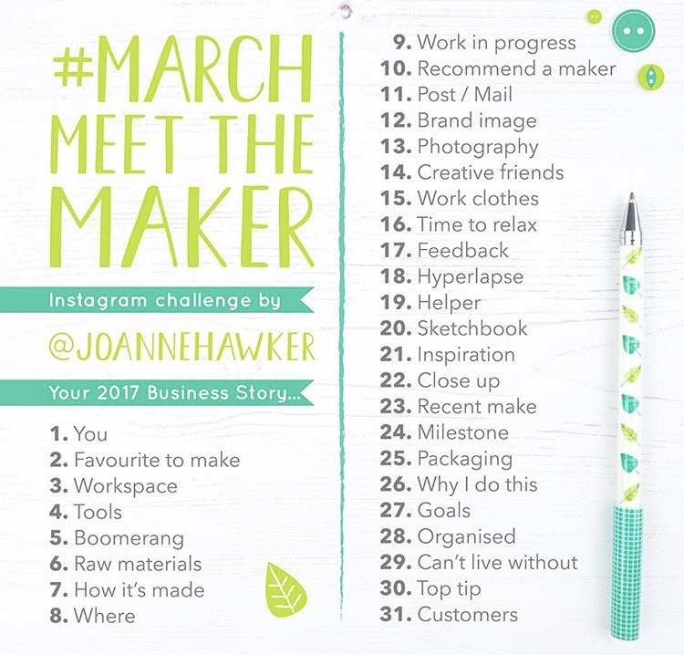 March Meet the Maker