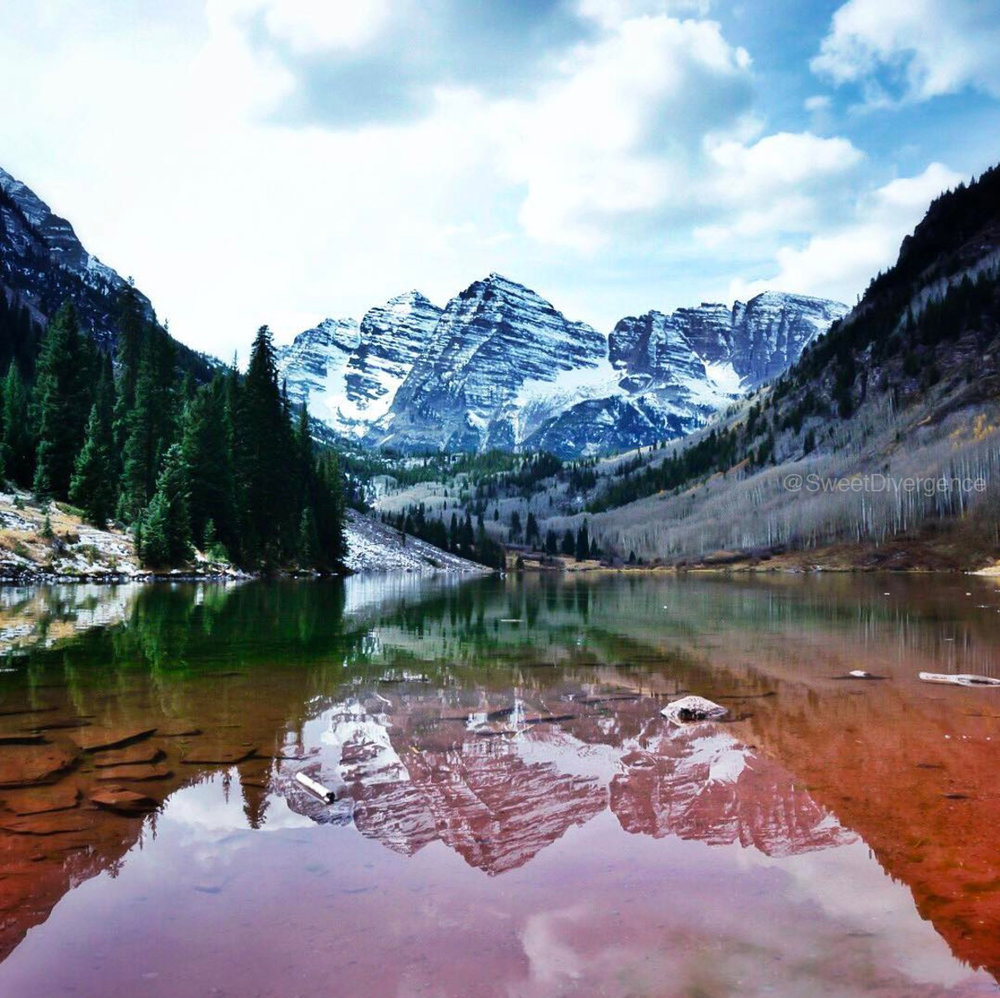Maroon Bells Aspen by Jessica Mack of @SweetDivergence