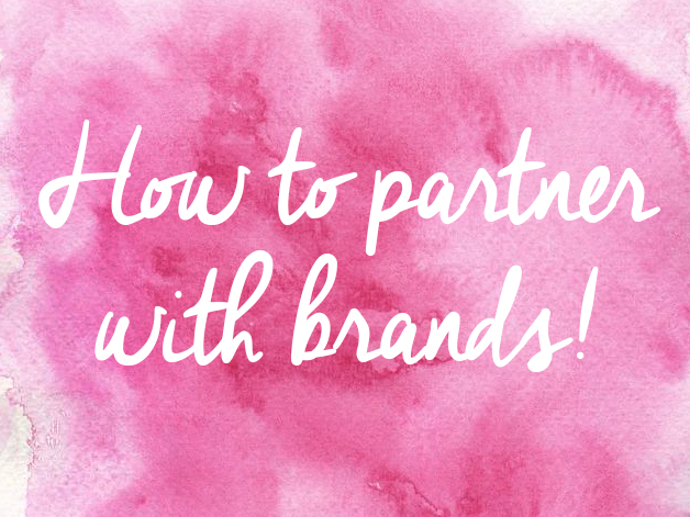 How to Partner with Brands