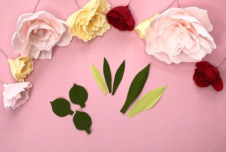 Easy to make crepe paper flowers brown paper bunny studio easy to make crepe paper flowers by jessica mack of brownpaperbunny mightylinksfo