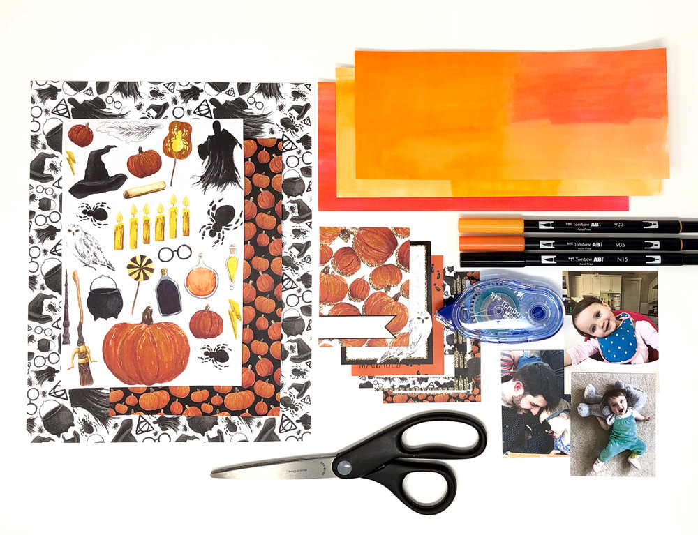 Make a Folding Halloween Card with Jessica Mack of BrownPaperBunny