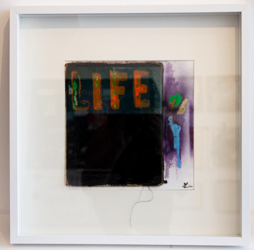 "GIANNI ARONE ""LIFE 3"" ORIGINAL $250.00"