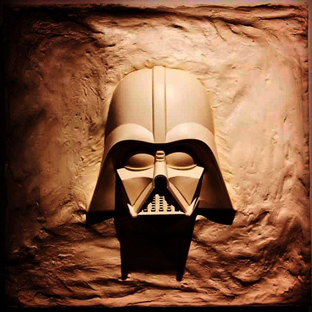 Feel the Force! If a member of the Light or Dark...Shine!  Art by Richard Rarsier  #starwars #stonemalonegallery