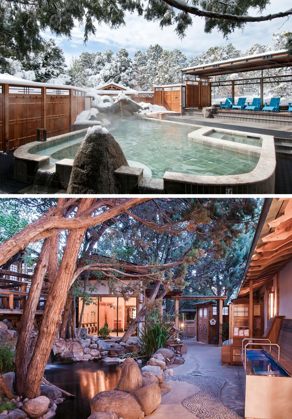 Ten Thousand Waves - Among piñons and junipers are beautiful outdoor hot tubs and spa suites, world-class bodywork & skin care, and the amazing Izanami restaurant.