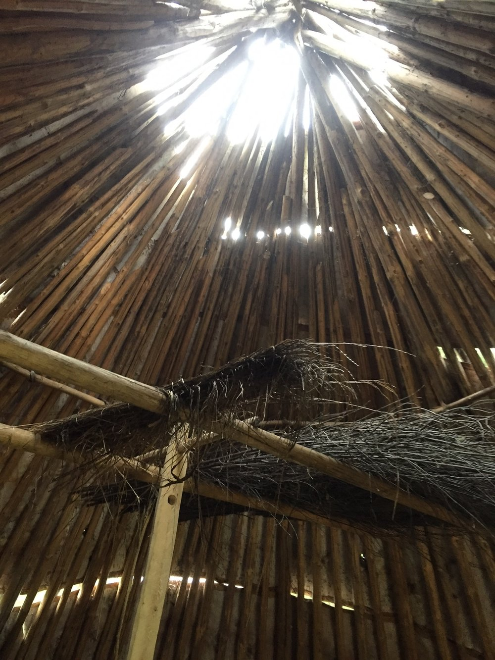 Honestly, when I walked into this tipi, I felt like I was home.