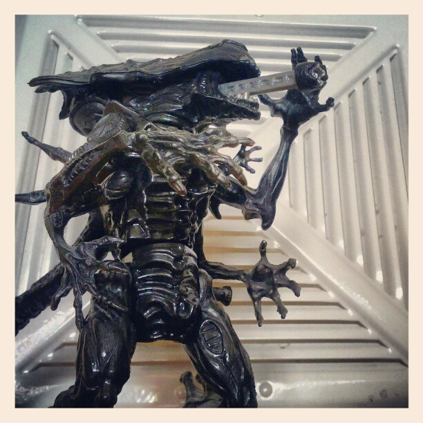 Queen Alien from the old Kenner line in '92. (Taken with  instagram )