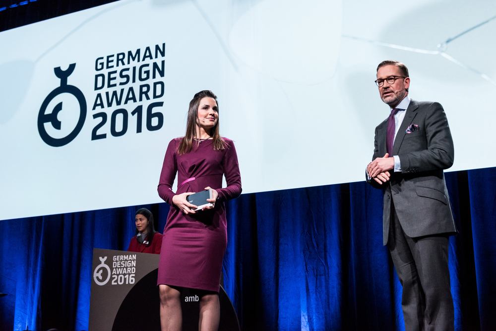 Moderation German Design Award 2016