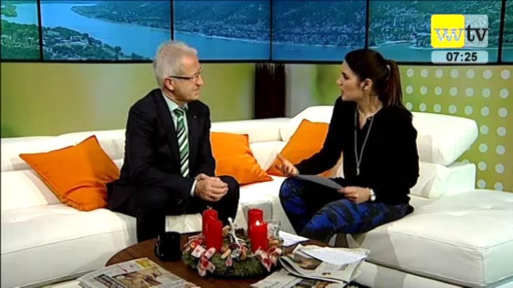 Julia Bauer Nachrichten Studio TV
