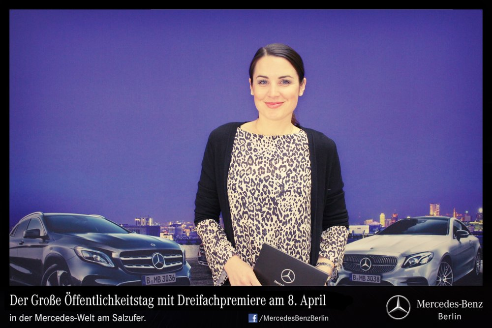 Moderation Mercedes Benz Berlin 2017