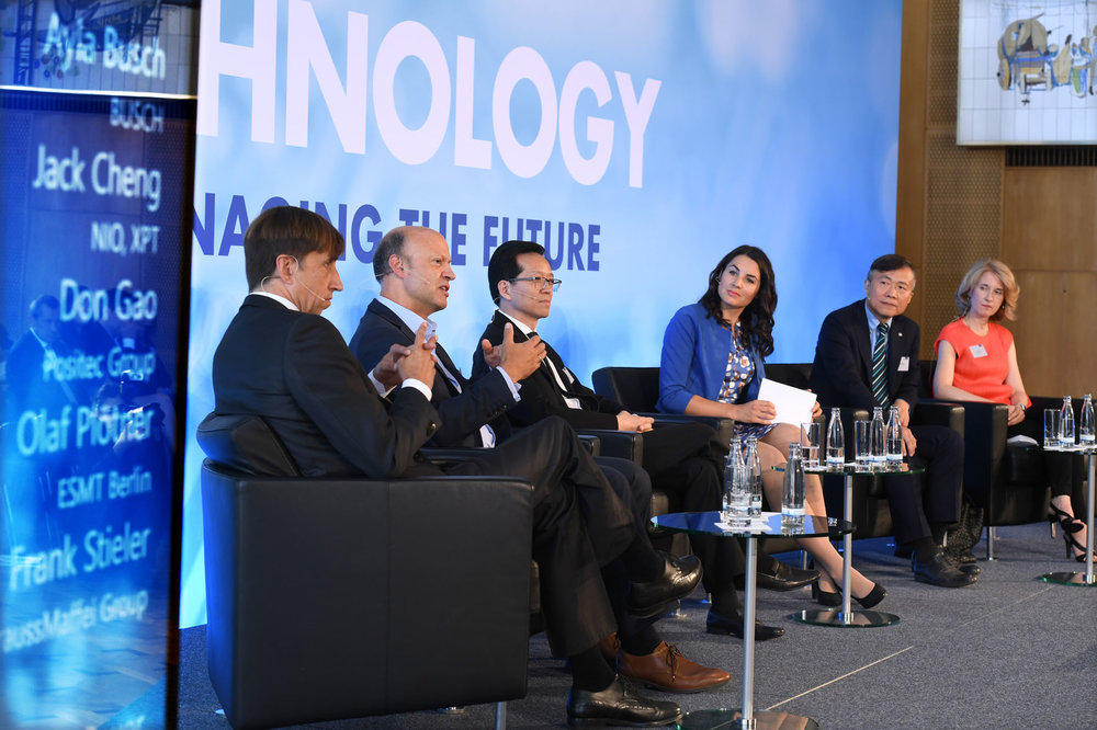 Moderation ESMT Panel on Business and Technology, Berlin 2018