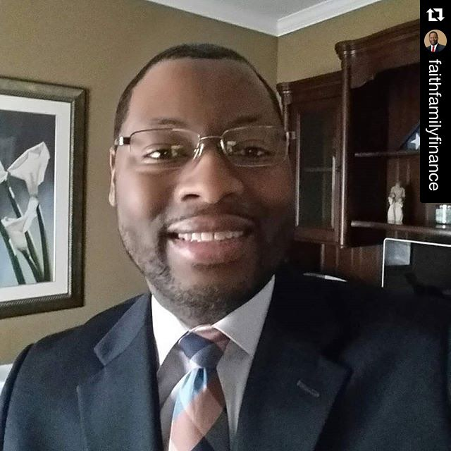 #Repost @faithfamilyfinance with @repostapp. ・・・ #1of100k my name is Andre Buckley and I am here! Husband, father, son and youth advocate.