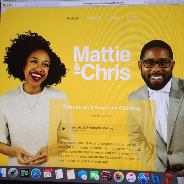 Finally, episode 25. #mattieandchris #podcast