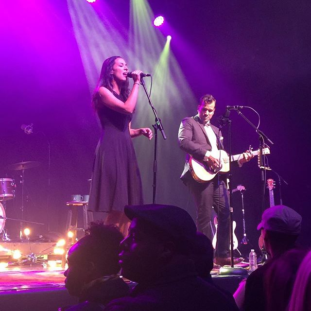 @johnnyswim was so amazing tonight. One of the best live shows we've been to.