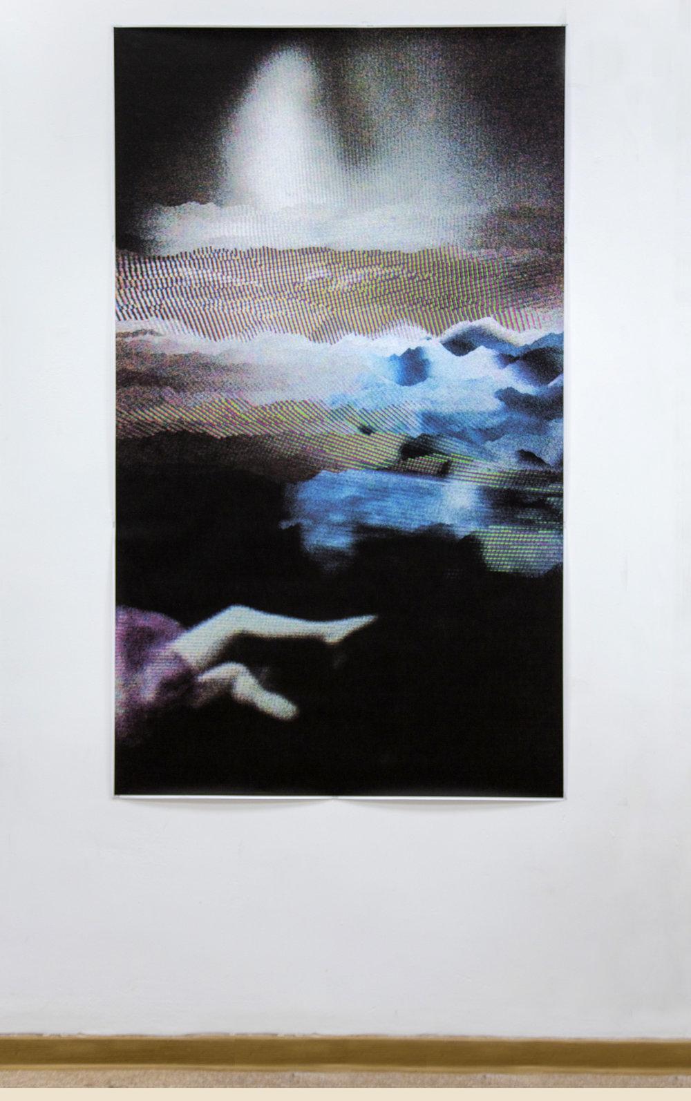 Falling  Digital Print  2017