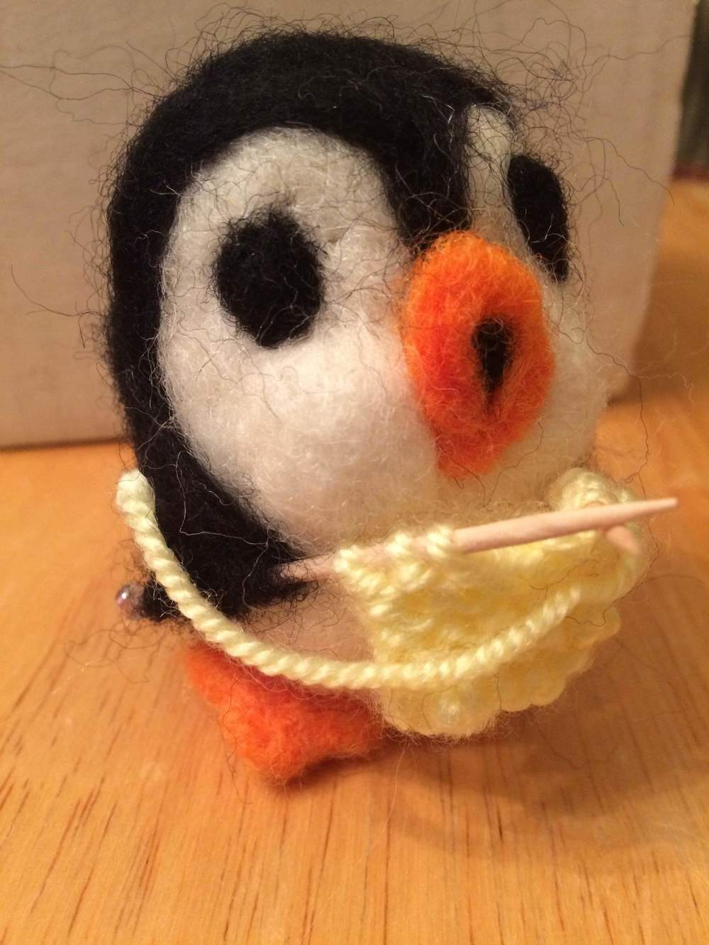 Pamela, Patti, Peter, Persephone, Paula, Paolo?  Start thinking of names for your penguin from the Poke a Critter class with Peg.