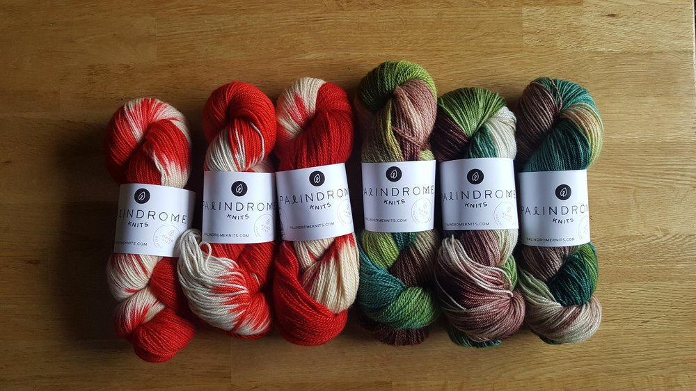 """on the left and """"True North"""" on the right. Both colours are exclusively  available at True North Yarn Co. c84a2d4341d"""