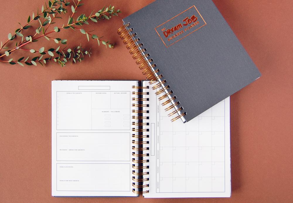 Dream Job Business Planner