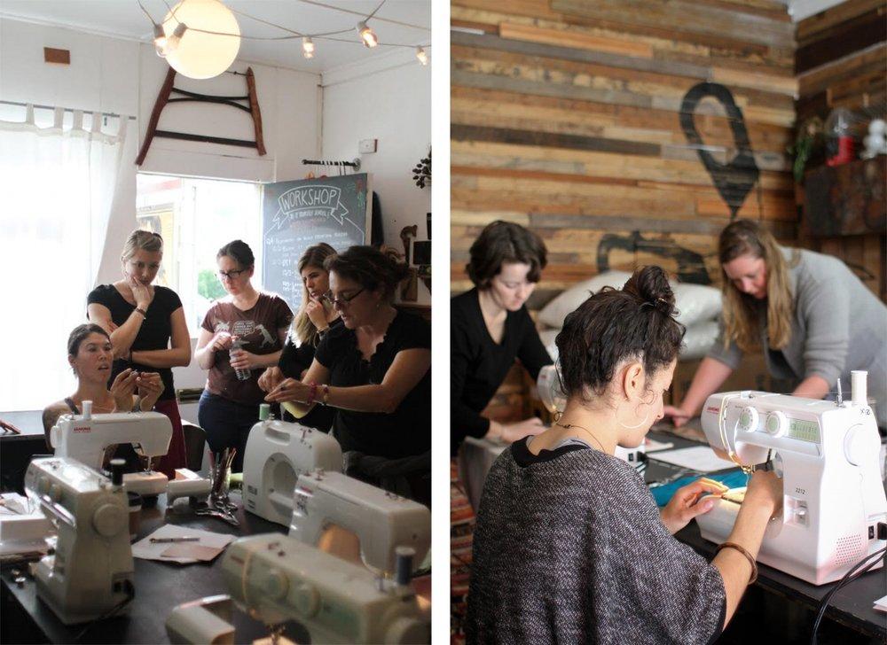 WorkshopSF Teaching Sewing