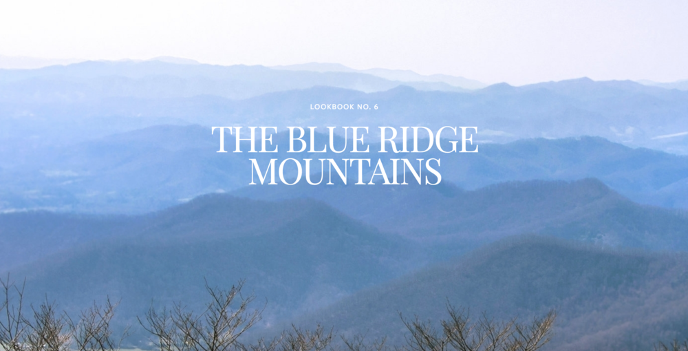 By Hand Lookbook No. 6 Blue Ridge Mountains