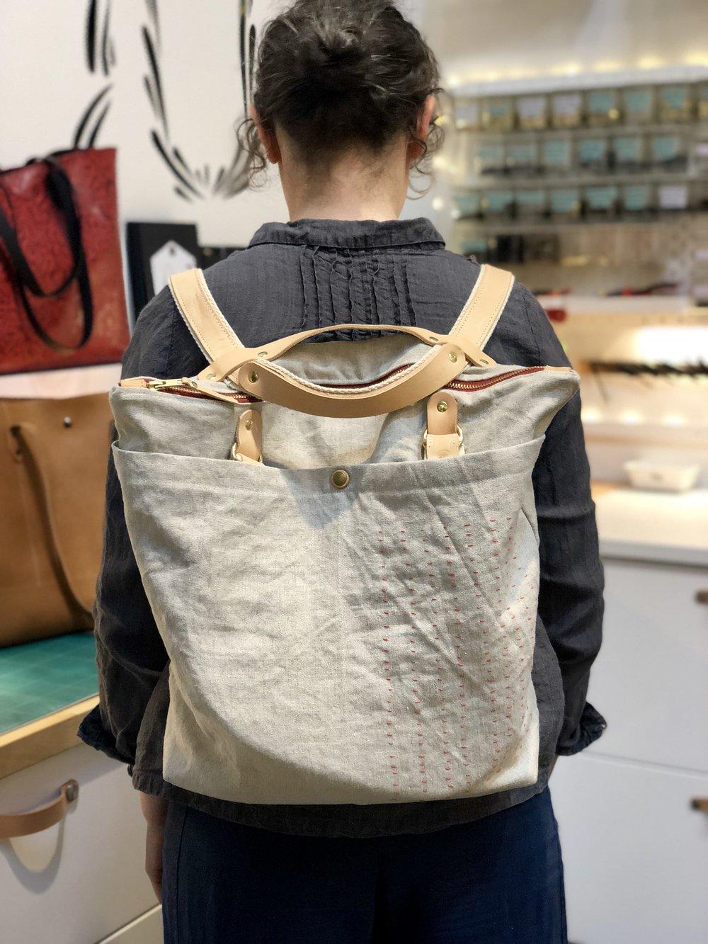 Custom Maywood with Sashiko Stitching