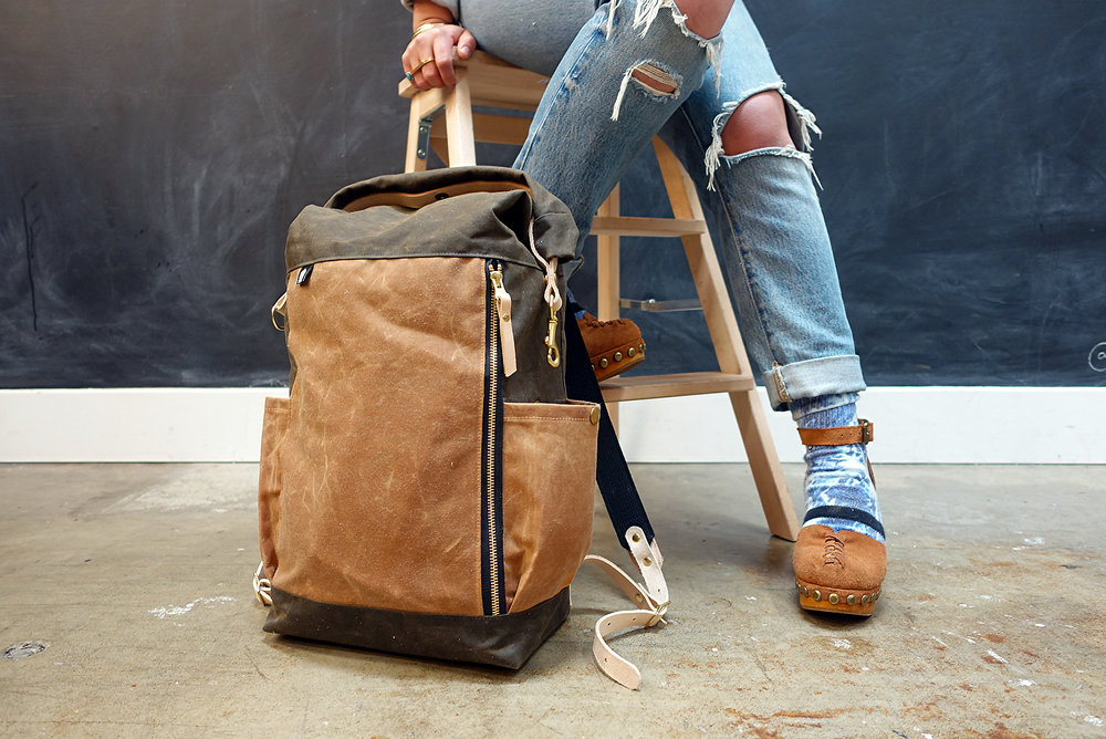 Slabtown Rolltop Backpack