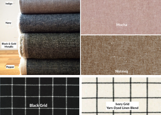 Lining Fabric Choices