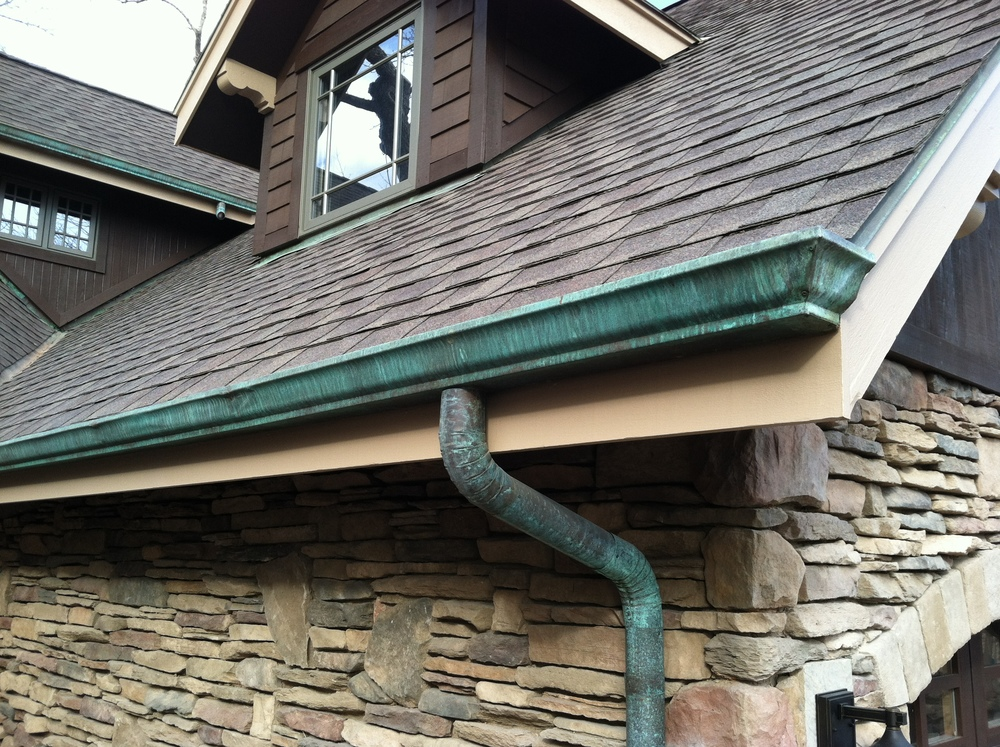 Copper Gutters Maxx Roofing And Construction Llc