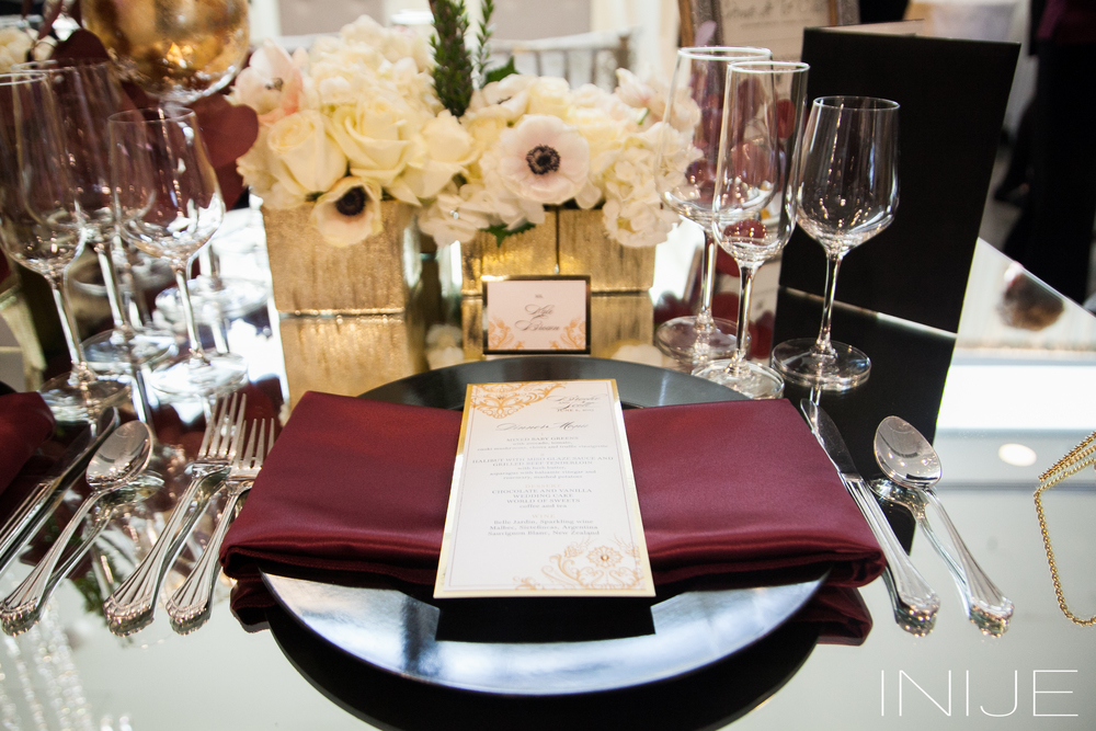 Creme de le Chic Events, INIJE Photography, Atlanta GA  #cremedelechic #atlantawedding #beabride #marsala