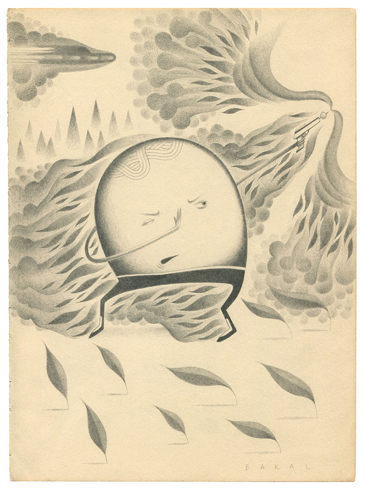 "Dim Stars: Defense (Fire) | 8.5"" x 11"" 