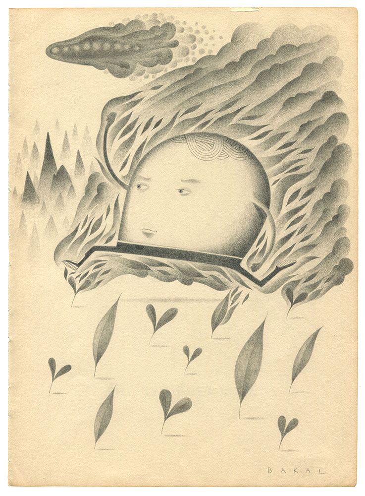 "Dim Stars: Escape (Fire) | 8.5"" x 11"" 