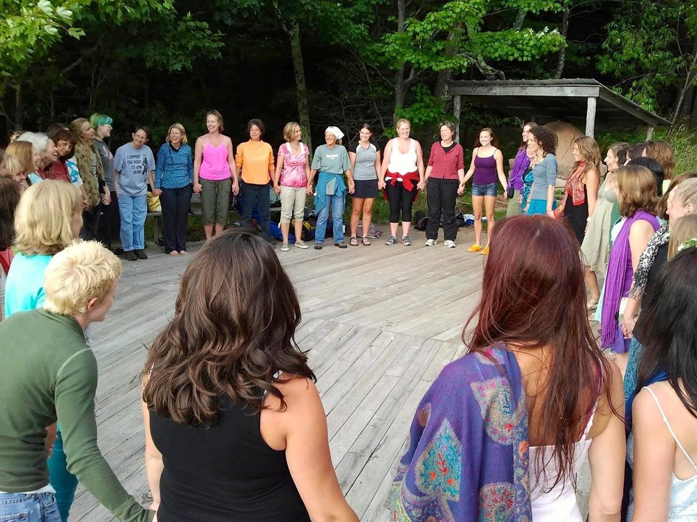Hero's Journey for Women - August 6th through 12th at the Mountain Institute in West Virginia.