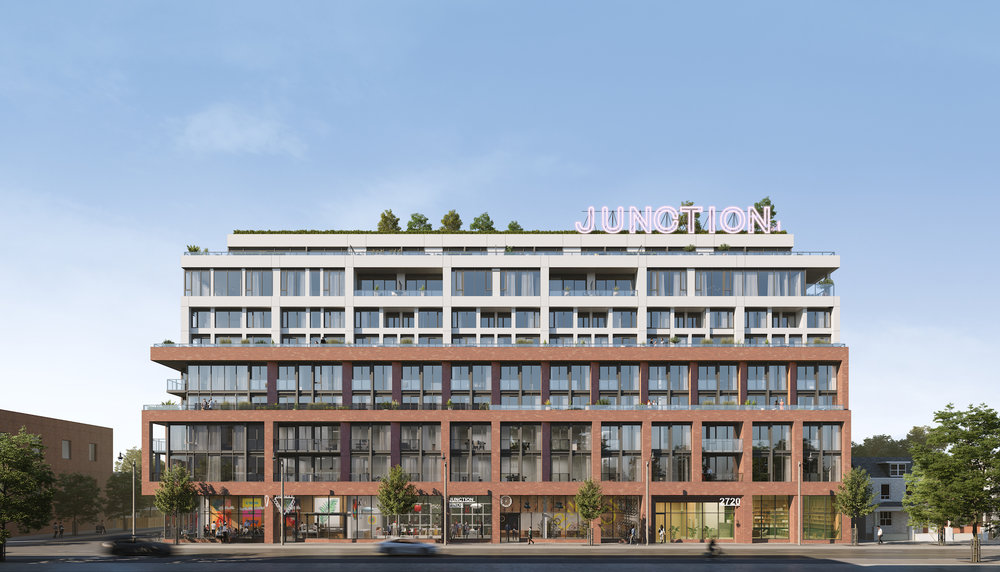 Slate Asset Management [in partnership with Globizen Developments] enters the fall market with Junction House, designed by architecture firm süperkul and interior design firm Dialogue 38.