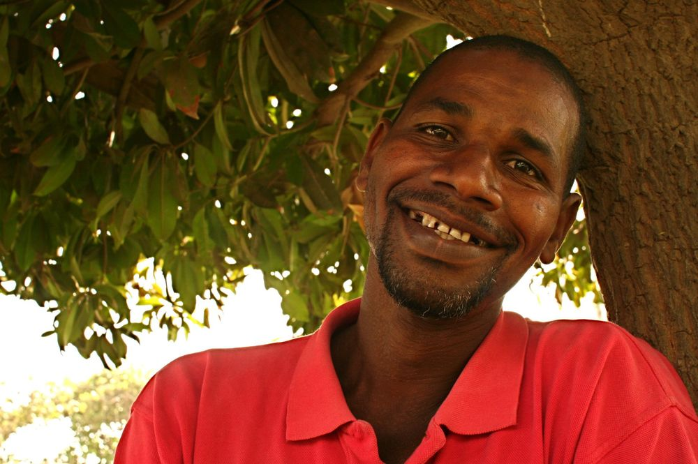 """I have a feeling that sooner or later this land is going to disappear,"" says 40-year-old Ibrahima Diallo, who has farmed vegetables in Dakar for half his life."
