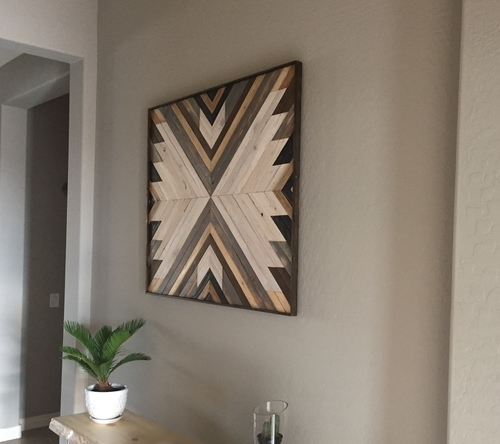 Wood Wall Art 2 - reclaimed wood wall art — r.a.w. restorations