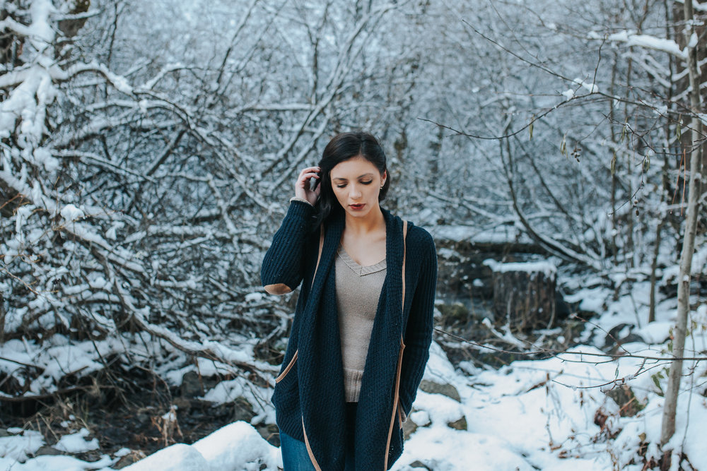 Copy of Snowy mountain lifestyle portraits