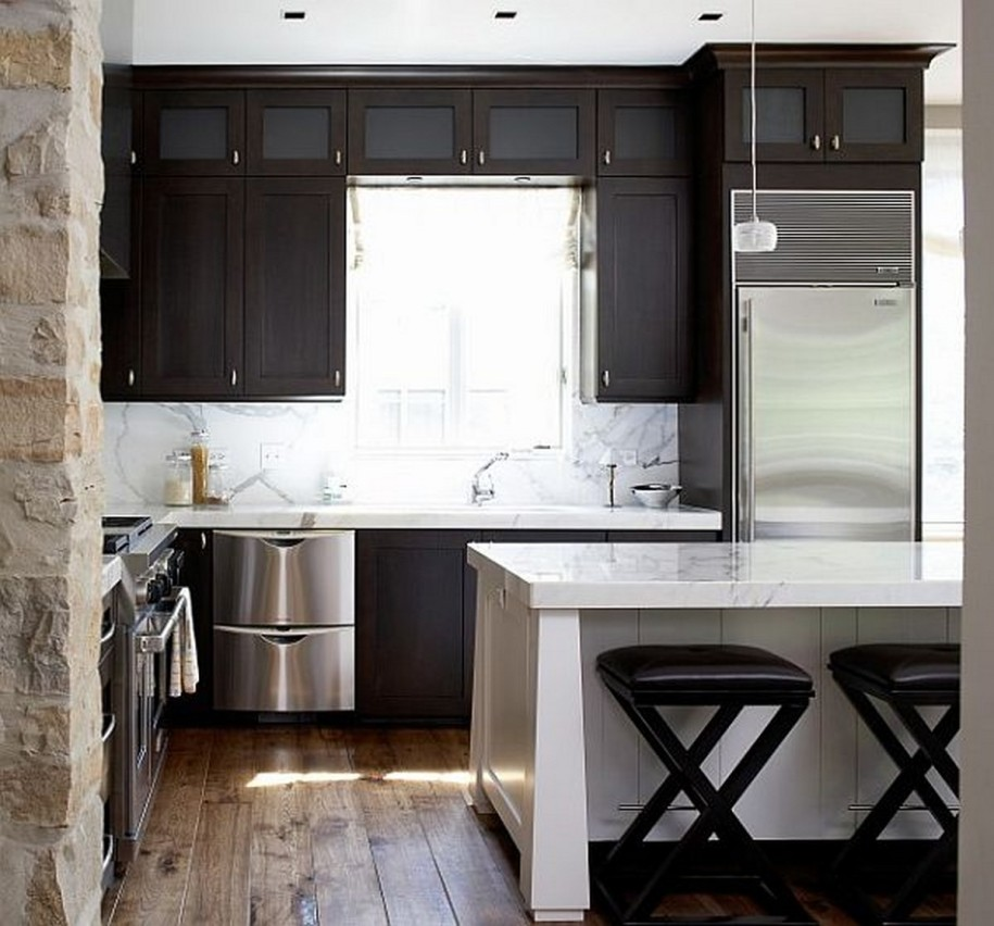 Small Space Kitchen Plans Gallery: Kitchen Design & Remodeling