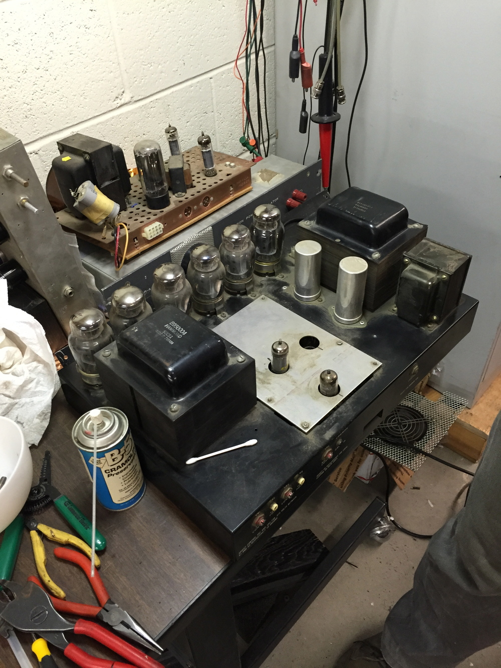 Amp Head Repair