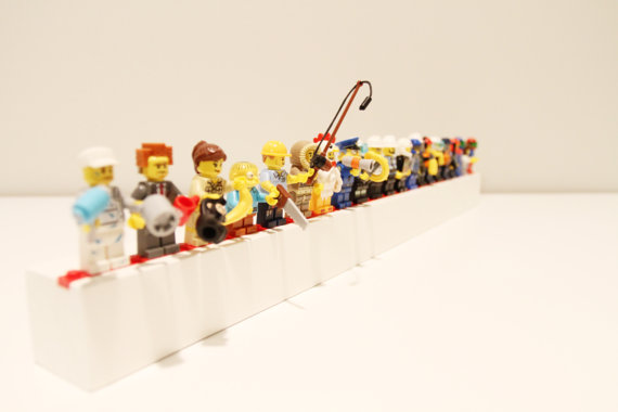 Lego Minigiture Shelf