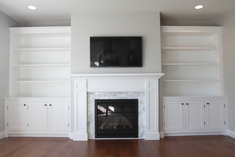 How to build a built in part 1 of 3 the cabinets for Living room built ins ideas